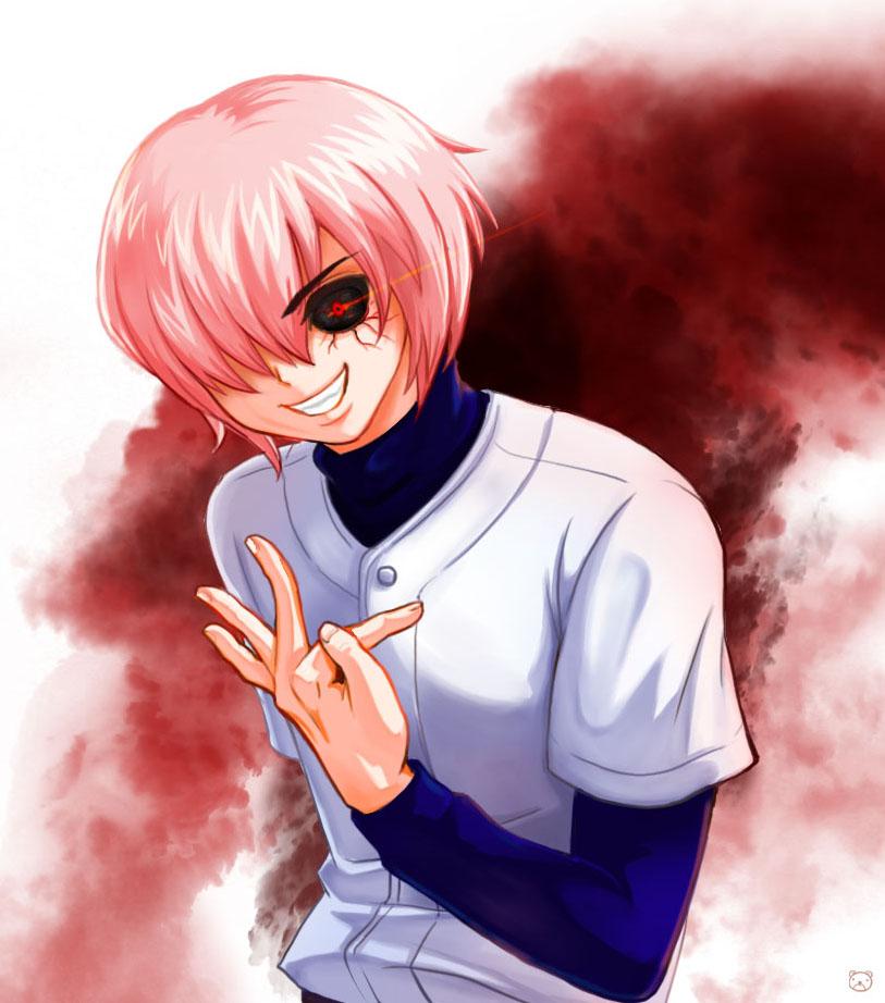 Kominato Haruichi: Haruichi With Ghoul Eyes. By WestFlow On DeviantArt