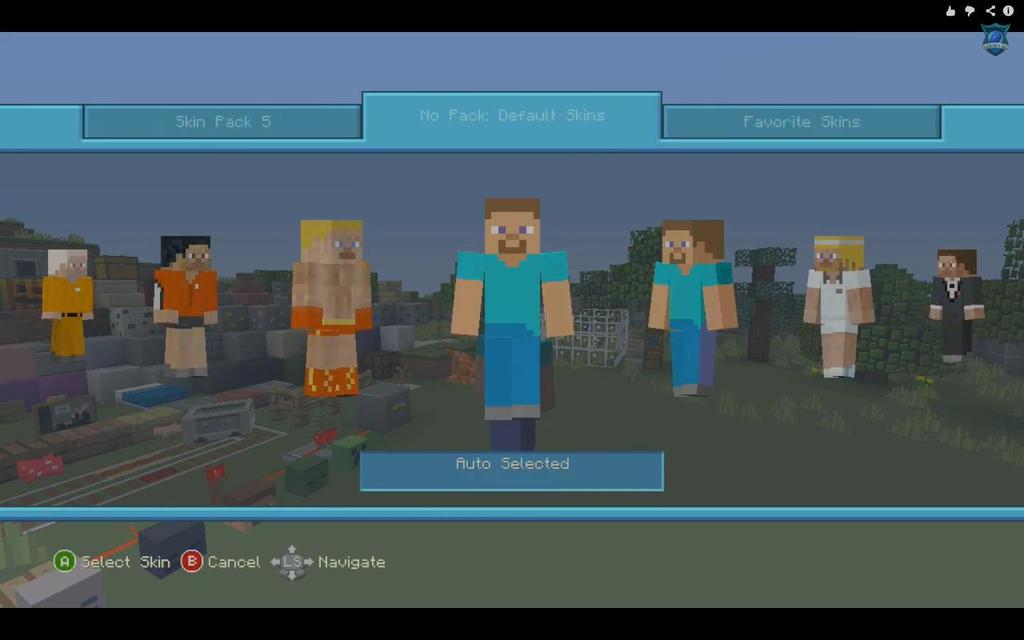 Xbox 360 Minecraft Default Skins Re-do the default skins but