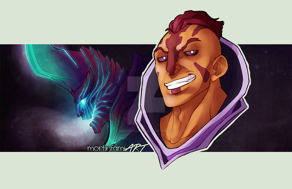 dota 2 anti mage and terrorblade by mortinfamiart on deviantart