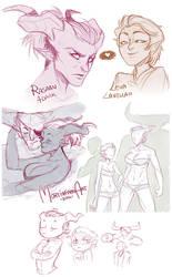 Dragon Age Inquisition - sketchdump #2