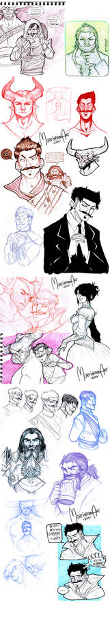 Dragon Age Inquisition - sketchdump #4