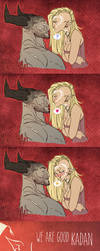 Dragon Age Inquisition - Happy Valentine's day by mortinfamiART