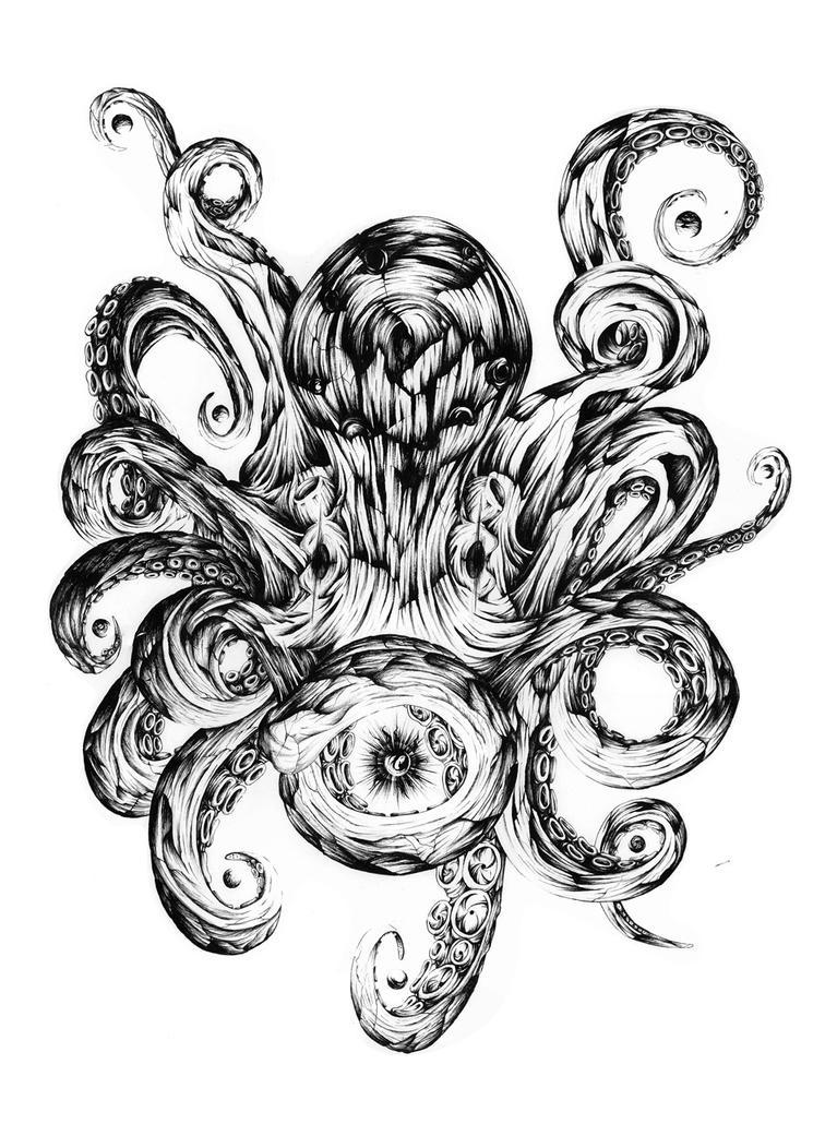 Solar System Octopus by cav on DeviantArt