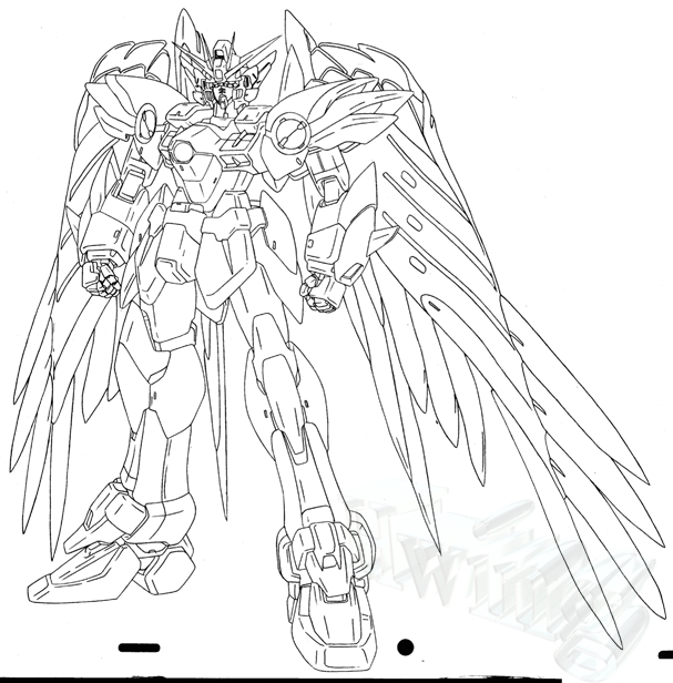 Gundam Free Coloring Pages