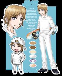 Character Reference Sheet of Jace, art:MangaKidArt by ULTRADJ4EVER