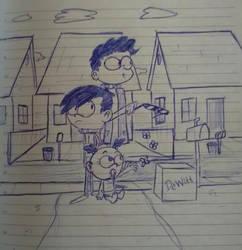 The Loud House OC's: Vincent, Jason, and Sophia