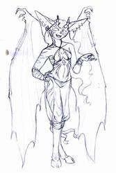 Inner demon sketch by The-original-ninja-c