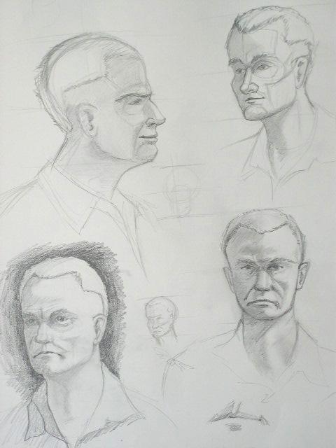 Male Portrait 2006 by The-original-ninja-c