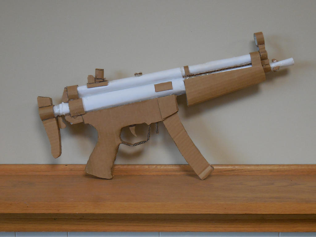 how to make a gun with cardboard
