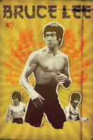 Featuring Bruce Lee by Wyel