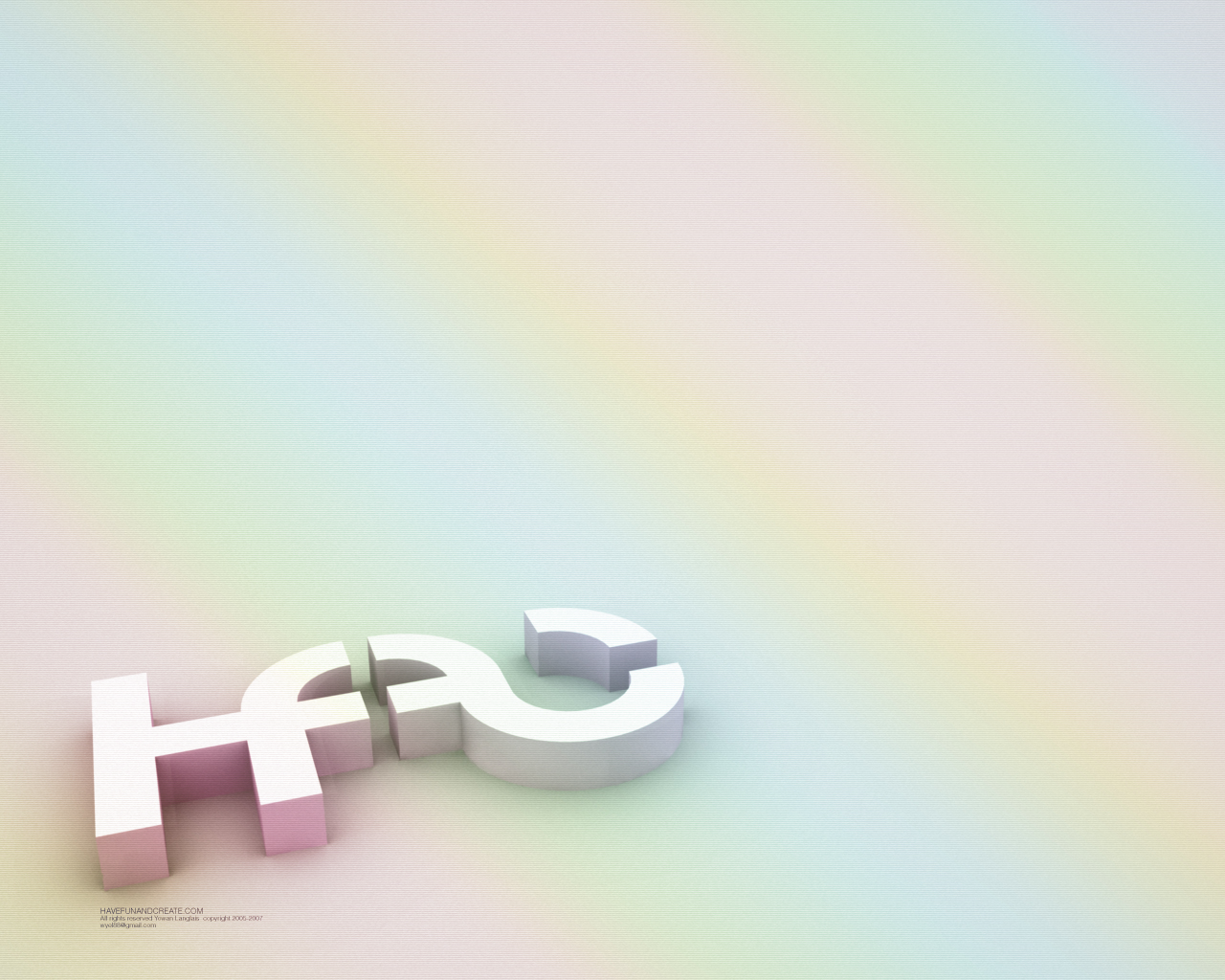 HFAC 3D Wallpaper by Wyel
