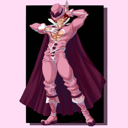 Magic Pink Suit