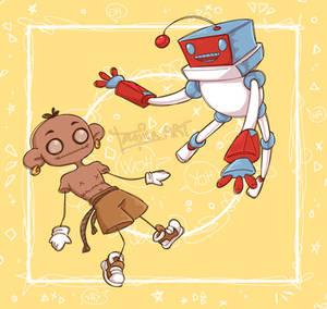Djibril and Bobby (friend's oc)
