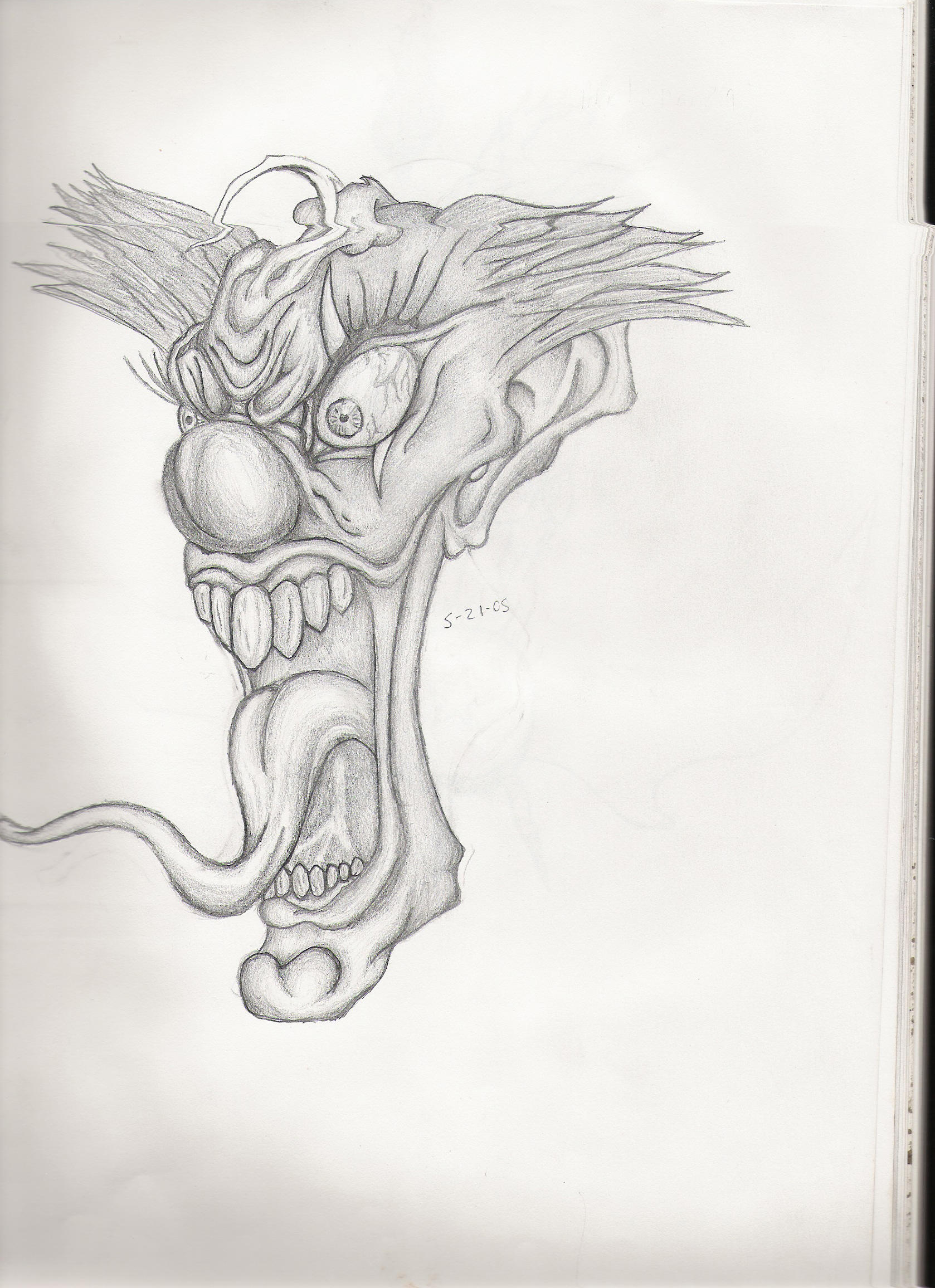 Crazy Clown By Thetank69876 On Deviantart
