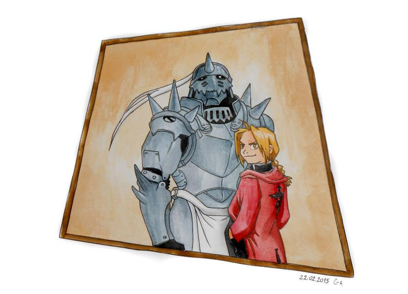 The Elric Brothers by Mellindor