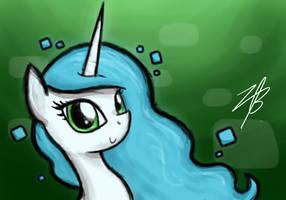 Pixel Wavelength - Princess of the Internet by el-bojo