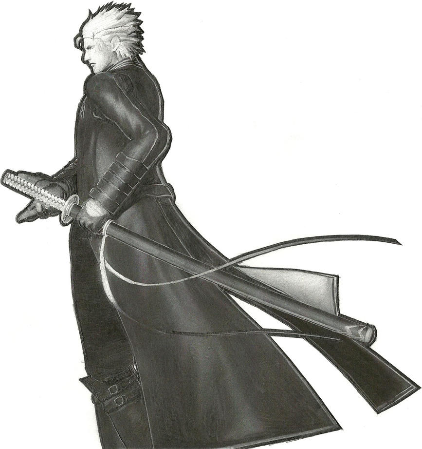 Vergil (Devil in a Blue Coat) by engineerx