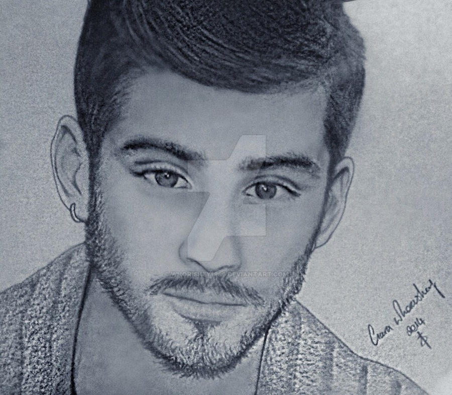 Zayn malik one direction by whoriskey1986
