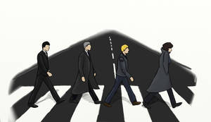 Abbey Road - Sherlock Style