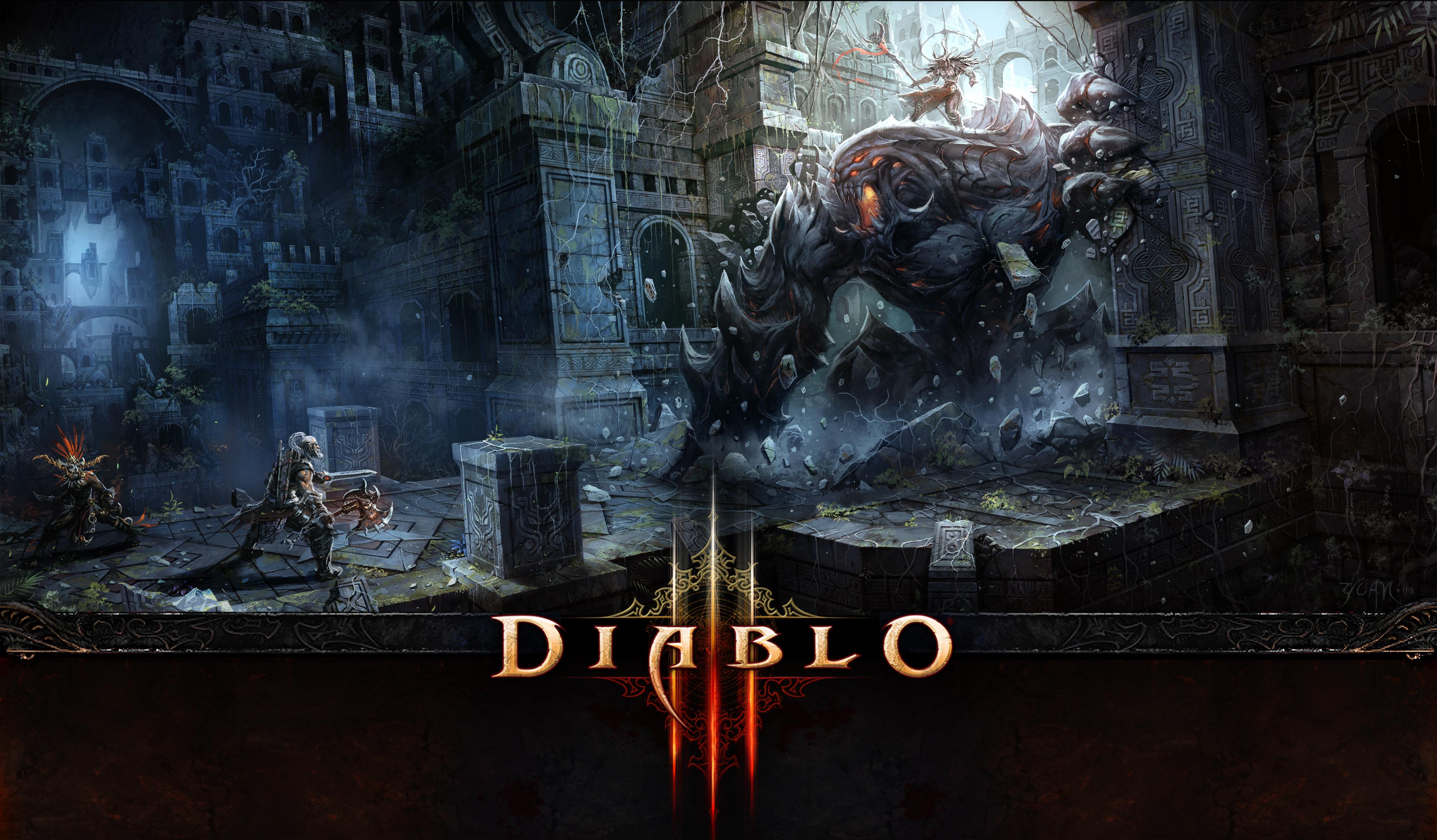Diablo III by ChaoyuanXu