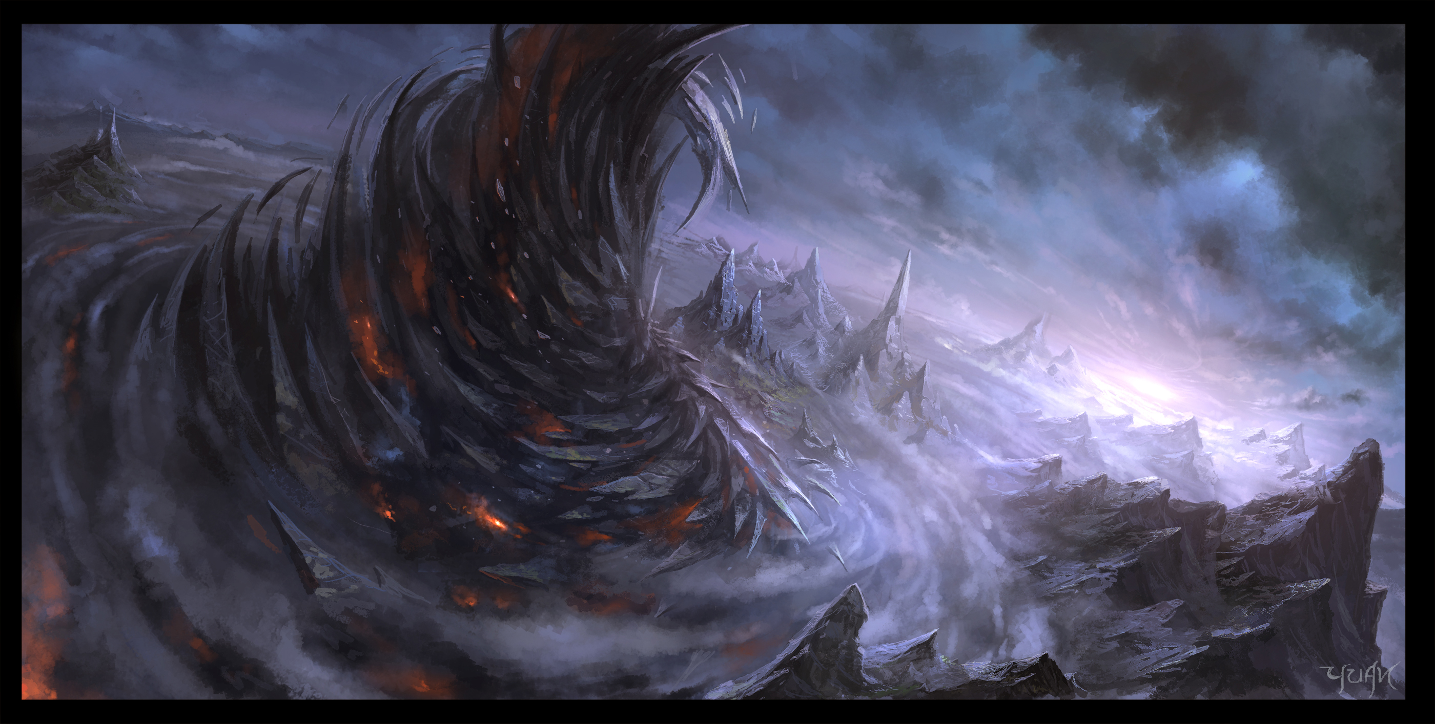 Lair of the Dark Phoenix by ChaoyuanXu