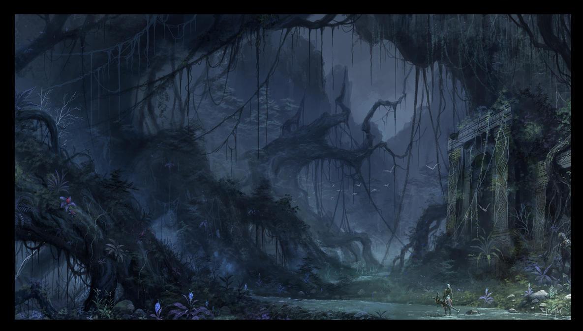 The Forsaken Wood by ChaoyuanXu