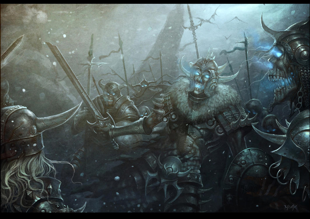 [WoA] Les Morts-Vivants attaquent Gotham City ! Terror_of_the_lich_king_by_chaoyuanxu-d4fviuo