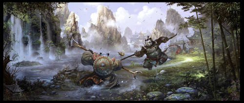 Martial Competition by ChaoyuanXu