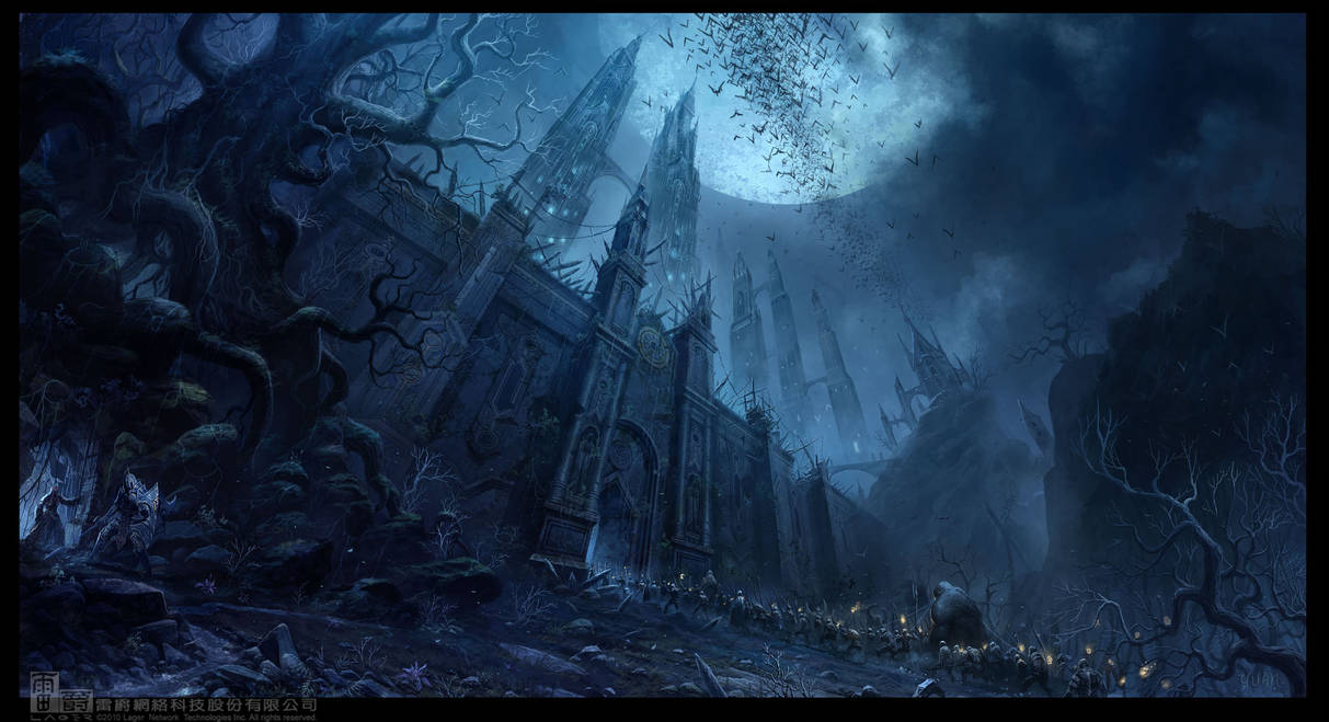 Chateau of Dark Moon by ChaoyuanXu
