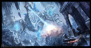 Against the Ice Colossus by ChaoyuanXu