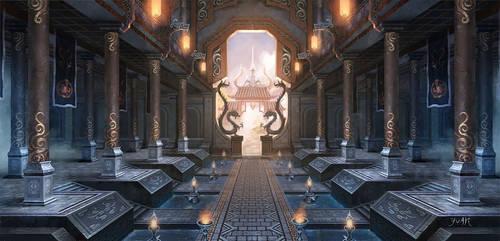 Hall of Shu by ChaoyuanXu