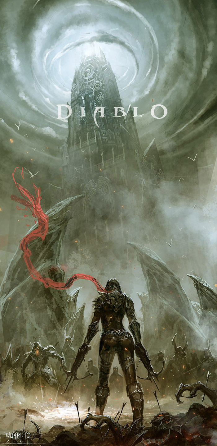 Enter Demon Hunter by ChaoyuanXu