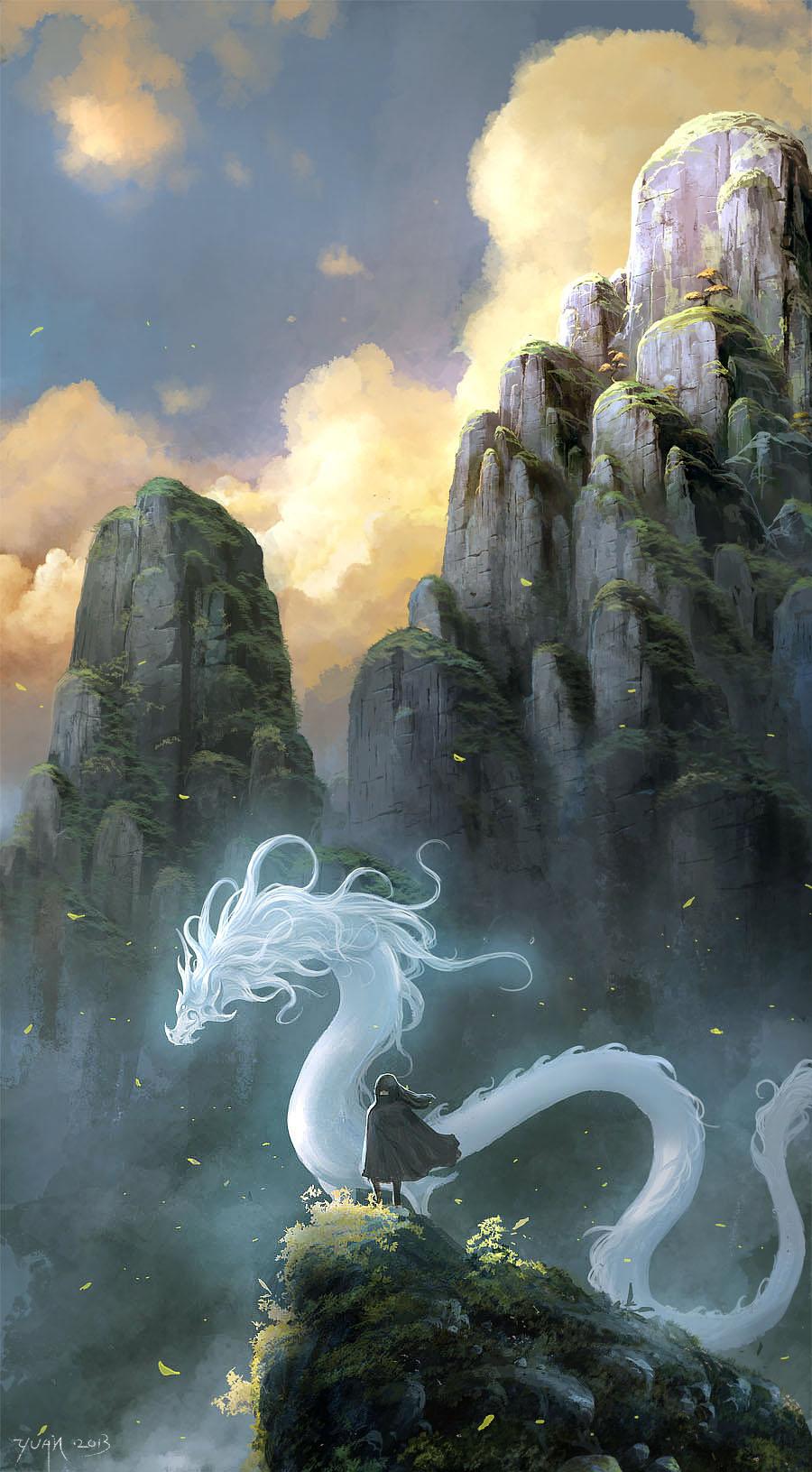 White Dragon by ChaoyuanXu