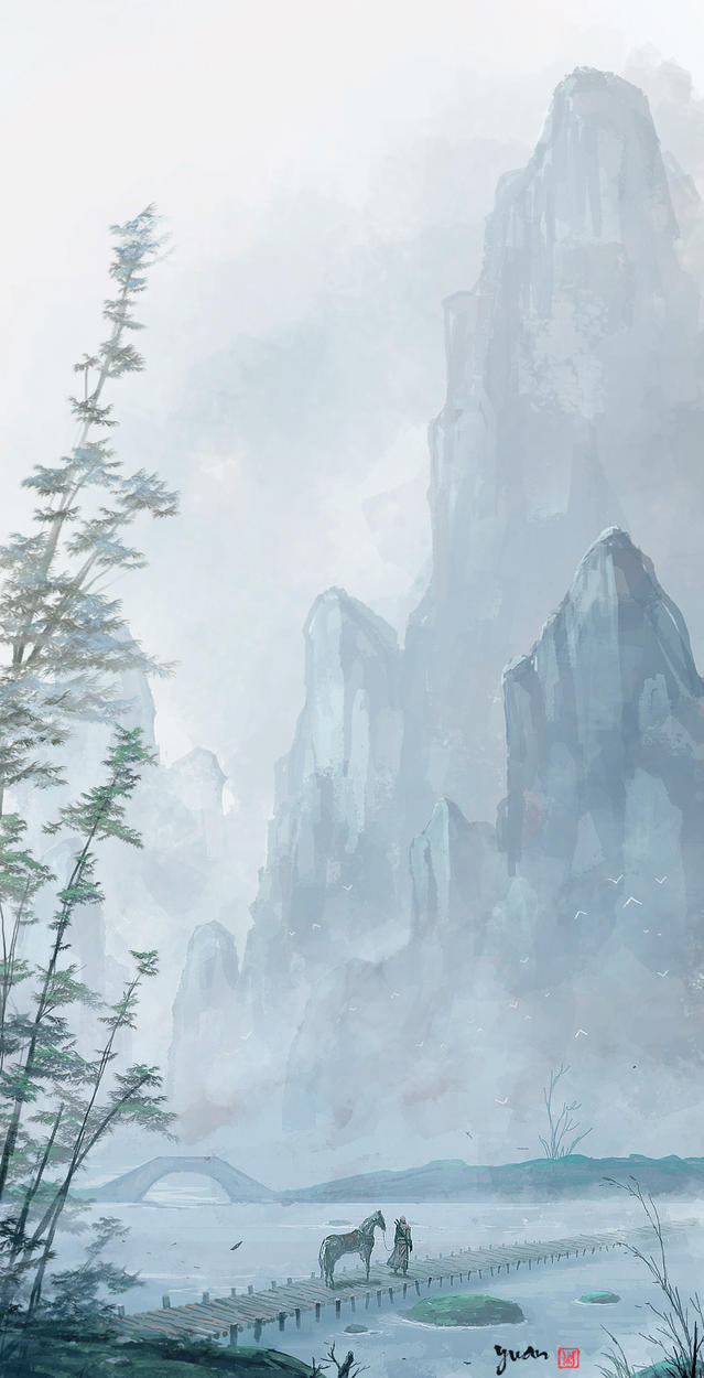 Mountain Creek by ChaoyuanXu
