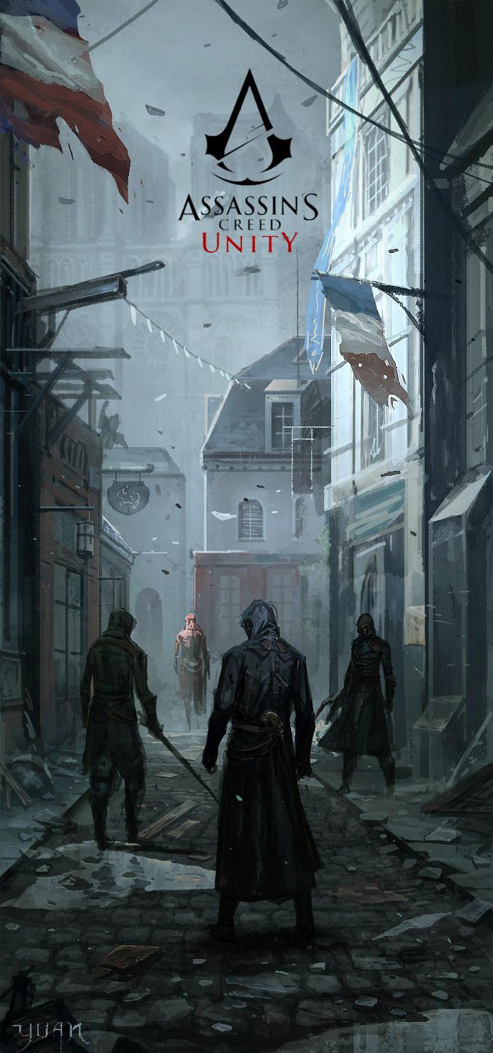 Assassin's Creed - Unity by ChaoyuanXu