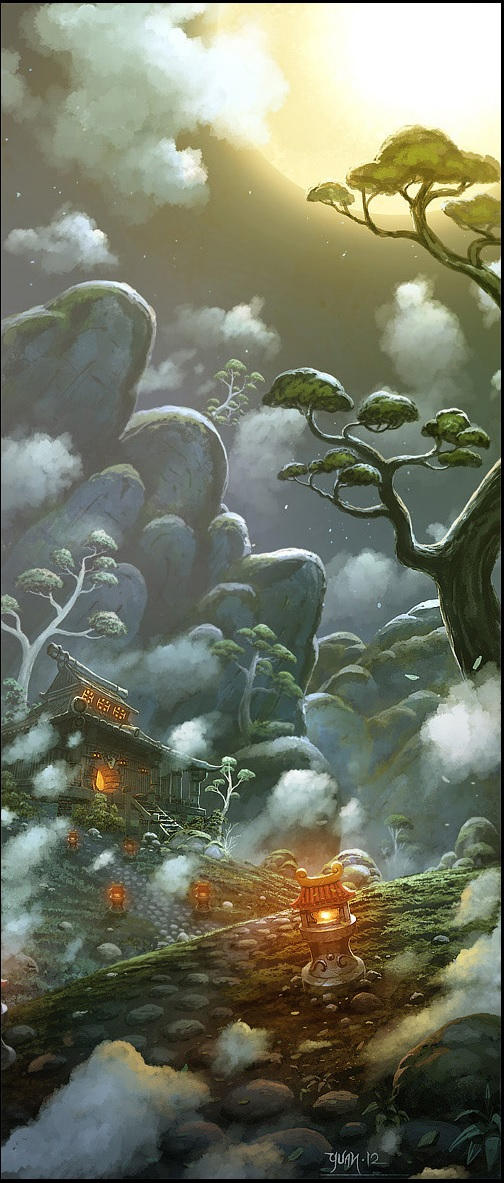 Tavern in the Mists