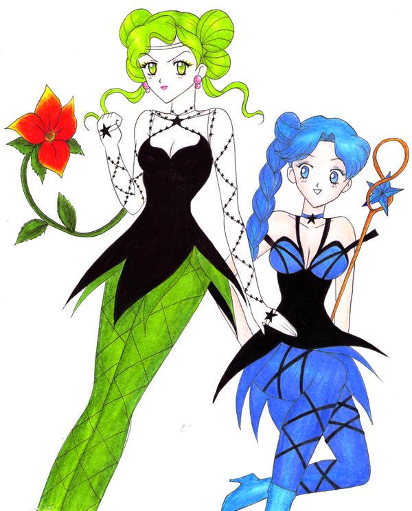 brujas5 Tellu y Cyprine by kasadedavid