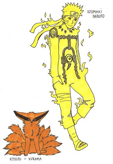 Kurama naruto chibi