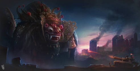 Giant Barong by sunrise666