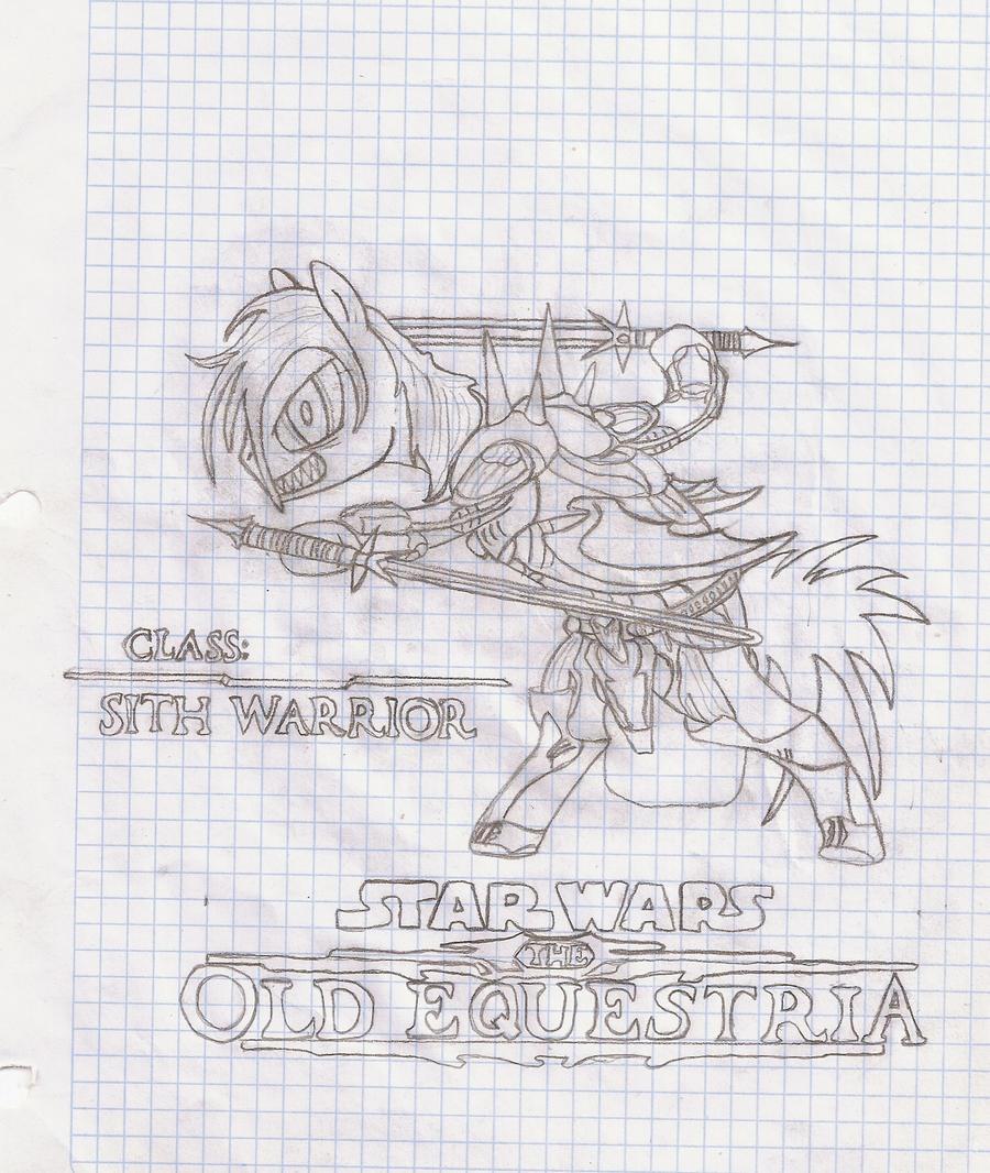 la galeria de Tay: a lapiz Storm_sith_warrior_by_tay_houby-d4eo2d3