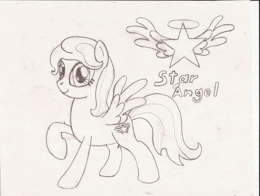 la galeria de Tay: a lapiz Star_angel_by_tay_houby-d5e1u2j