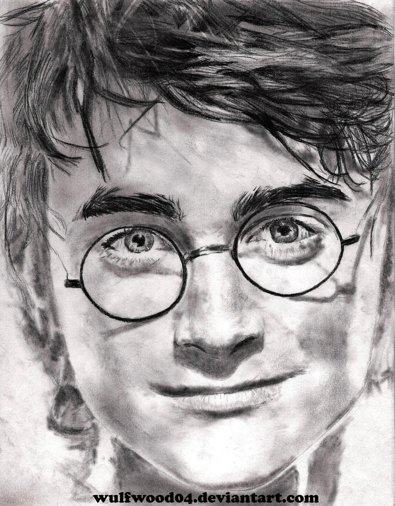 Line Drawing Harry Potter : Harry potter it all ends by wulfwood on deviantart