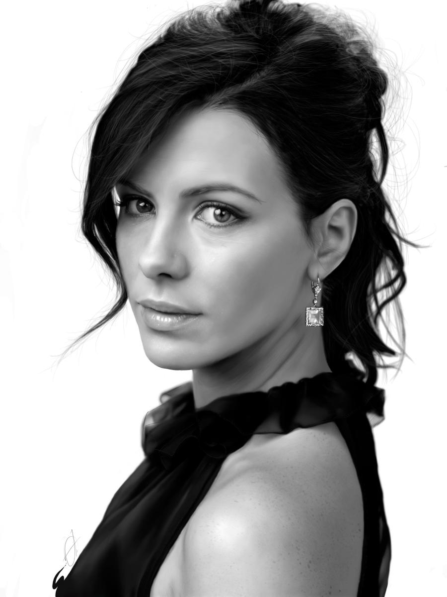 Kate Beckinsale by Anelu
