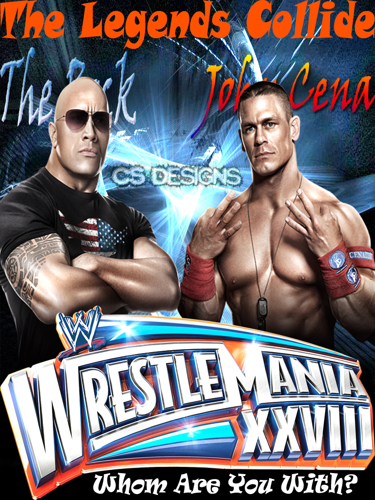Watch Wrestlemania 28 The Rock Vs John Cena Closet Drama Definition