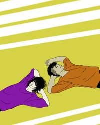 Laying Around by iYoysickle