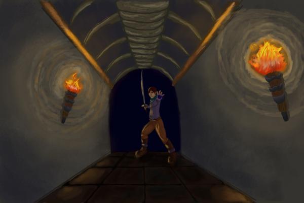 Shadowed Tunnel by RachBurns