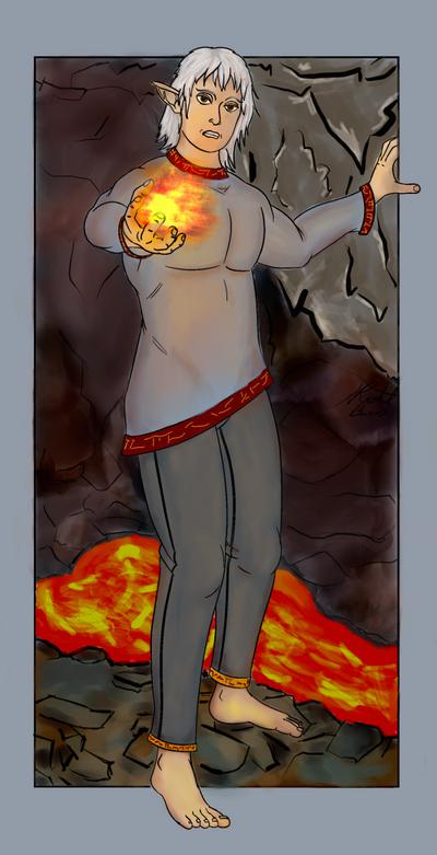 Firelord Norux by RachBurns