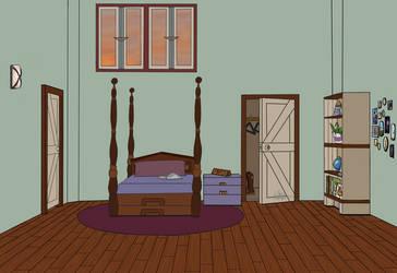 Cera's Bedroom flats by RachBurns