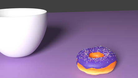 Cup + Donut