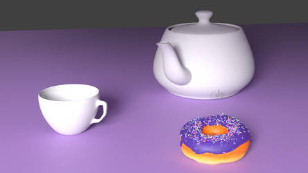 The Cup, Donut, and Teapot